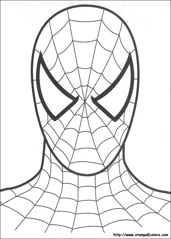 Disegni de spiderman for Disegni da colorare di spiderman