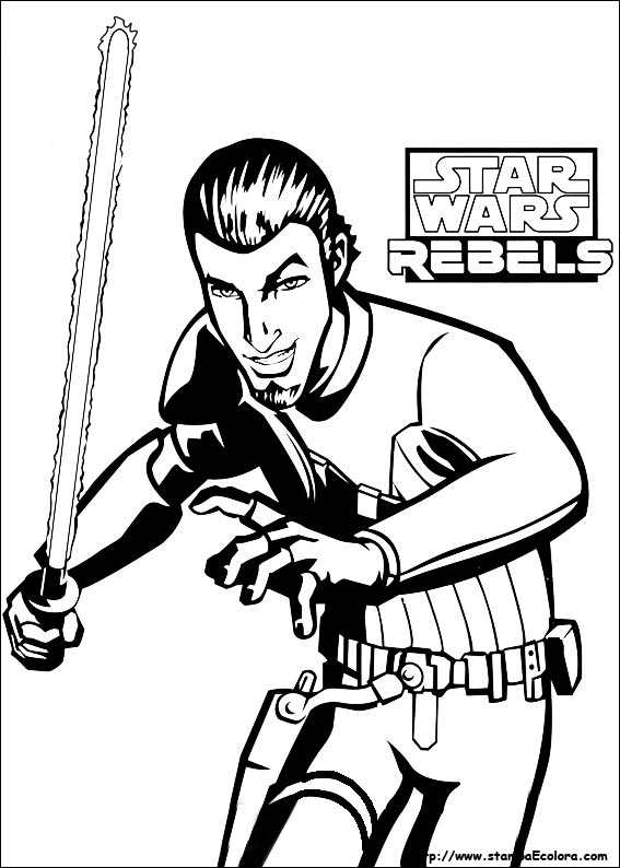 Disegni Da Colorare Star Wars Rebels.Disegni Di Star Wars Rebels Da Colorare