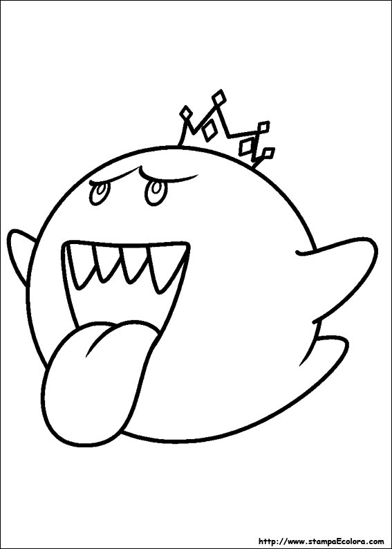 Disegni de super mario bros for Disegni da colorare super mario