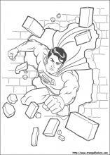 Disegni Di Superman Da Colorare