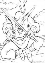 Disegni Di Tartarughe Ninja Da Colorare
