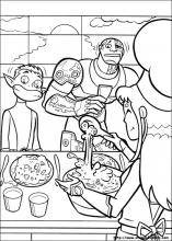 Disegni Di Teen Titans Da Colorare