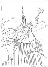 Disegni Di Thor Da Colorare
