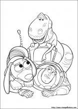 Disegni Di Toy Story 3 Da Colorare