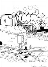 Disegni Di Trenino Thomas Da Colorare