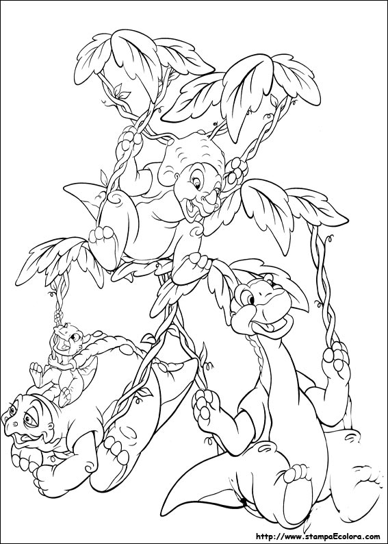 Images: Land Before Time Coloring Pages Sharptooth