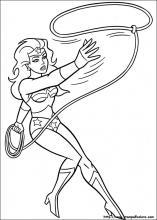 Disegni Di Wonder Woman Da Colorare