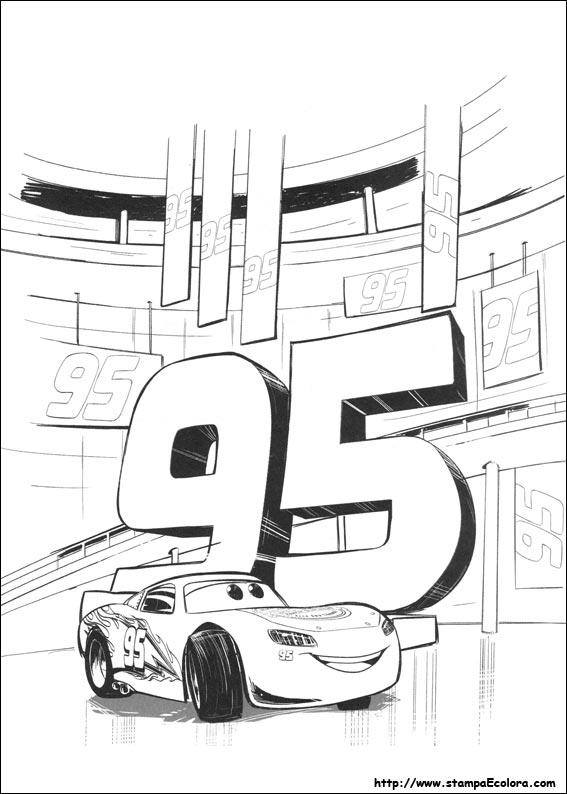 Disegni de cars 3 for Cars 2 da stampare
