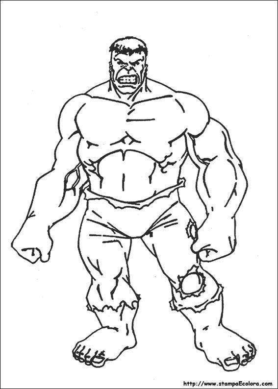 Disegni De Hulk
