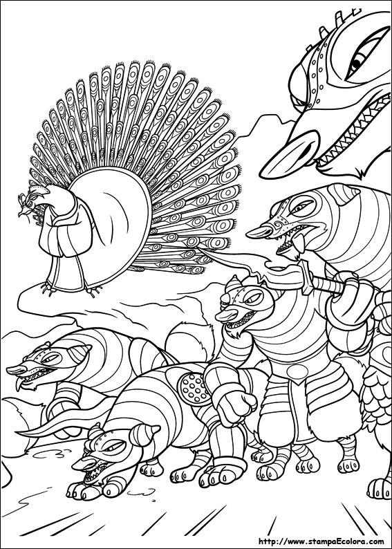 Disegni De Kung Fu Panda 2