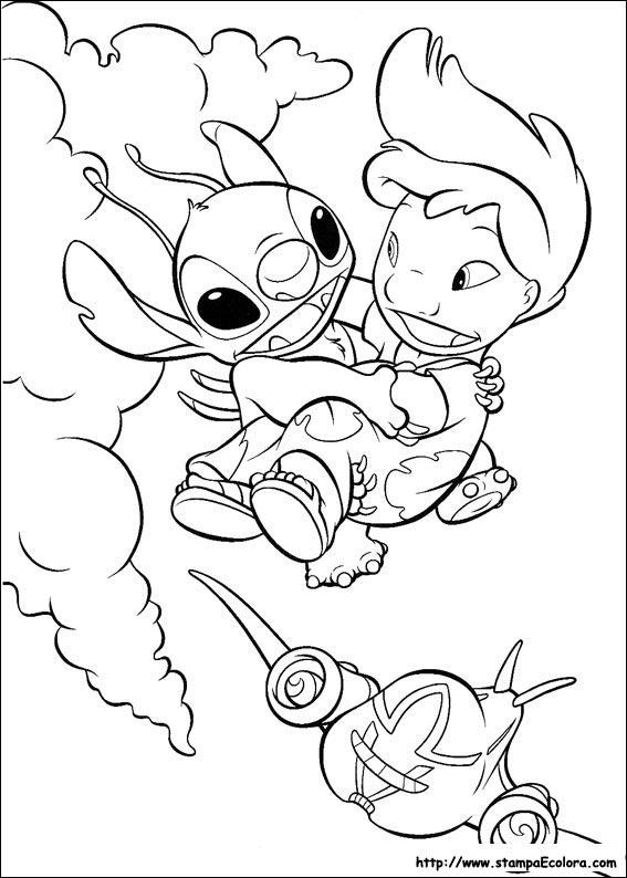 Disegni De Lilo E Stitch