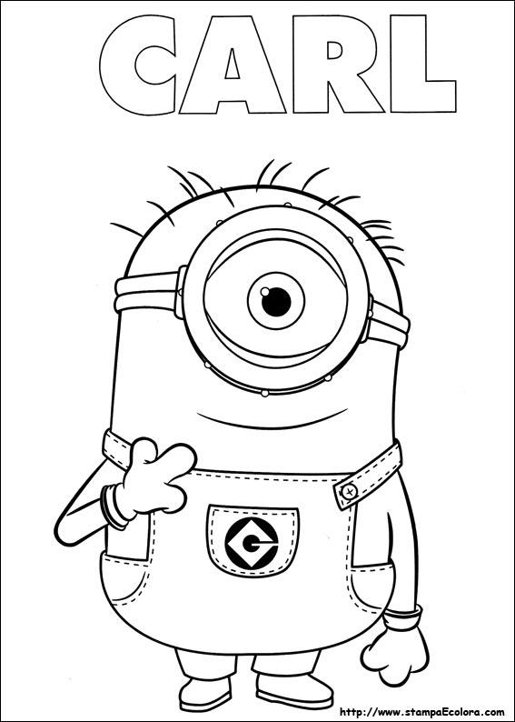 Disegni de minions for Minions immagini da colorare