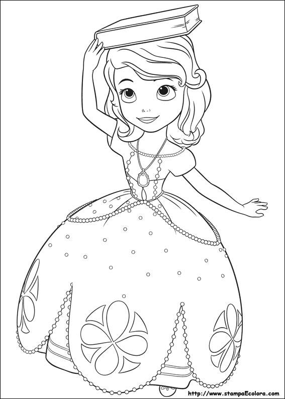 Disegni de sofia la principessa - Immagini da colorare la neve ...