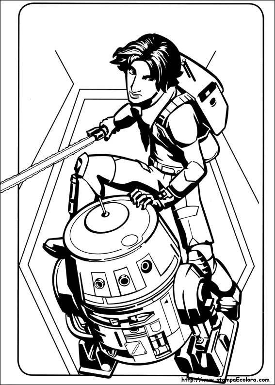 Disegni Da Colorare Star Wars Rebels.Disegni De Star Wars Rebels