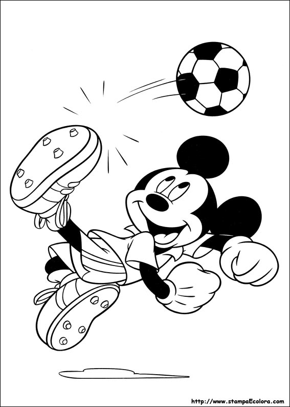 Disegni de topolino for Immagini da colorare di minnie