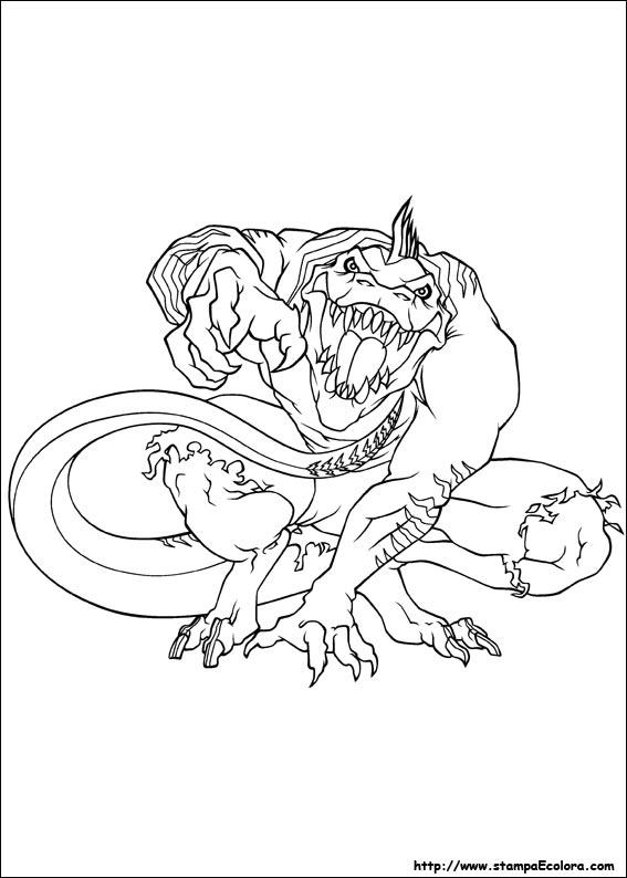 Disegni Da Colorare Spiderman E Lizard.Disegni De Ultimate Spider Man