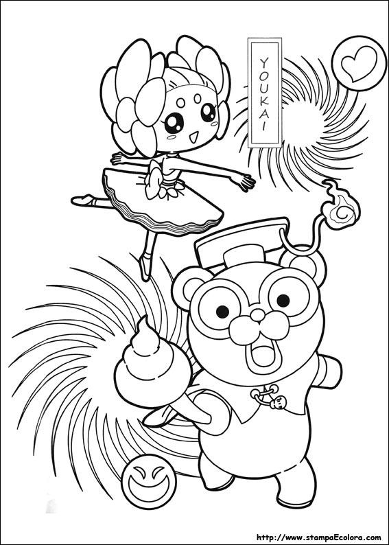 Disegni De Yo Kai Watch